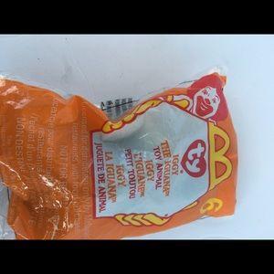 TY Beanie Baby Iggy The Iguana McDonald's Toy